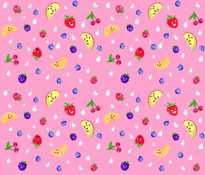 Happy Fruit Pink XL