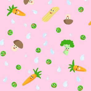 Happy Food Veggie Purple XL