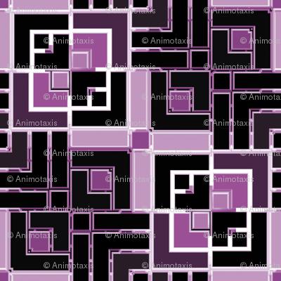 Metallic Square Mosaic 6