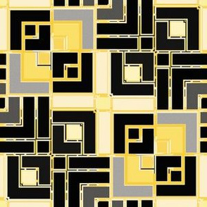 Metallic Square Mosaic 8