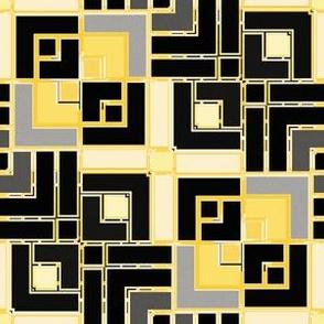 Metallic Square Mosaic 8