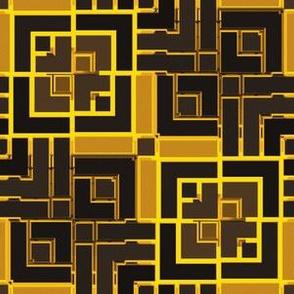 Metallic Sqare Mosaic 11
