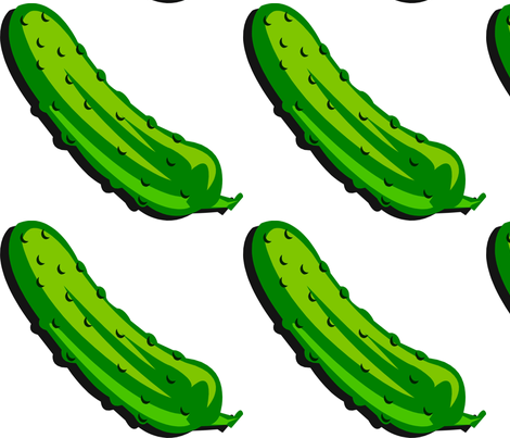 Pickle Fabric fabric by lizgoff on Spoonflower - custom fabric