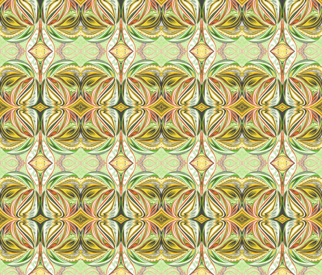Caribbean_Flames fabric by yezarck on Spoonflower - custom fabric