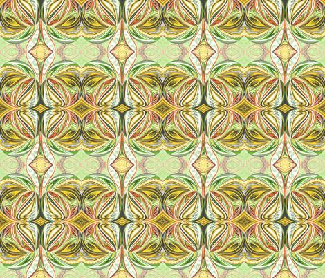 Caribbean_Flames fabric by yezarck on Spoonflower - custom fabric