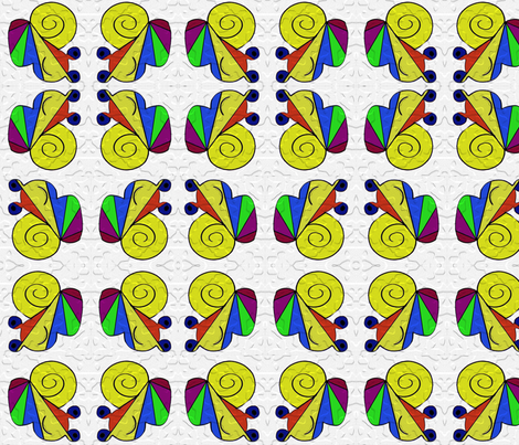 SNAILx4 fabric by kali_d on Spoonflower - custom fabric