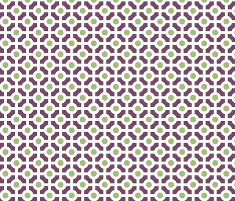 Griddot fabric by littlebear on Spoonflower - custom fabric
