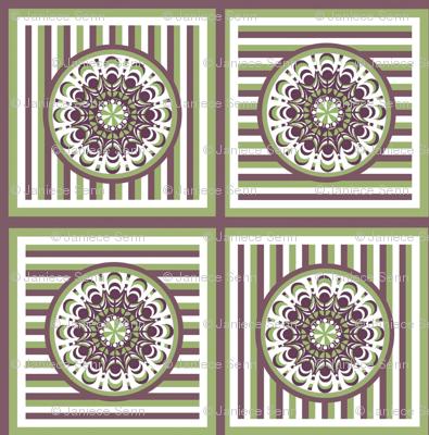 Garden Delight Companion fabric squares