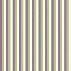 Garden Delight Companion fabric stripes