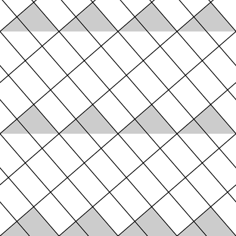 rotated rectangle root 3:4:7 fabric by sef on Spoonflower - custom fabric