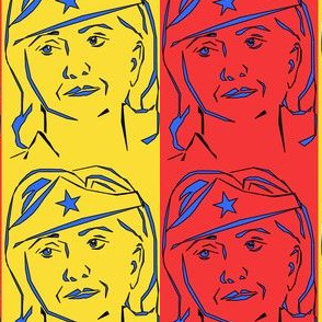 Hillary Clinton, Wonder Woman