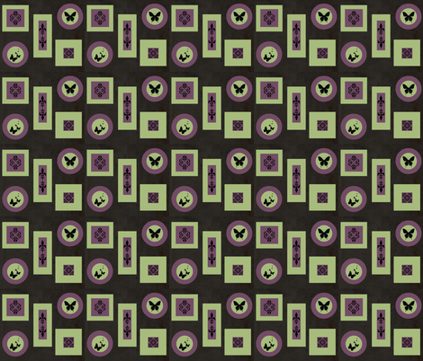 Kitchen Wall fabric by kimi-d on Spoonflower - custom fabric