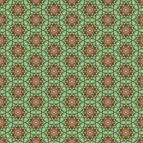 Natane's Moss fabric by siya on Spoonflower - custom fabric