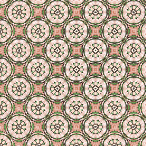 Natane's Cartwheel fabric by siya on Spoonflower - custom fabric