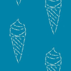 icecream calligram
