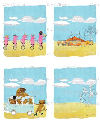 Circus bag design