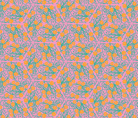 jugendstil-25 fabric by studiojelien on Spoonflower - custom fabric