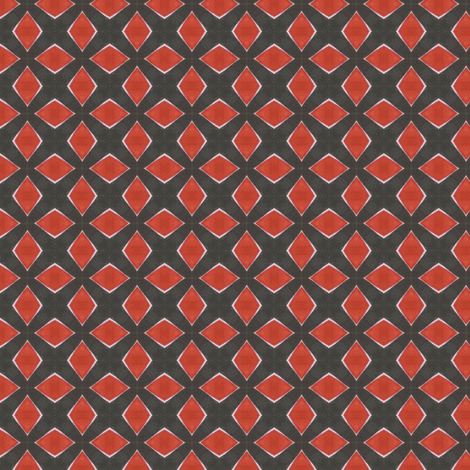 Ink Diamonds fabric by siya on Spoonflower - custom fabric