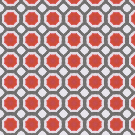 Ink Octagon fabric by siya on Spoonflower - custom fabric