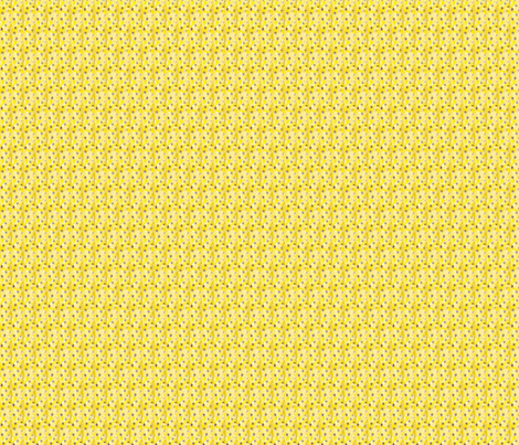 random yellow bloom coordinate #2 fabric by kymnicolas on Spoonflower - custom fabric