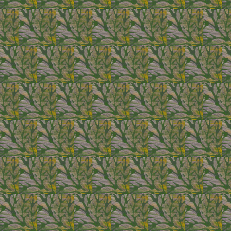 a wash of leaves fabric by kymnicolas on Spoonflower - custom fabric