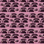 flamingos and phones