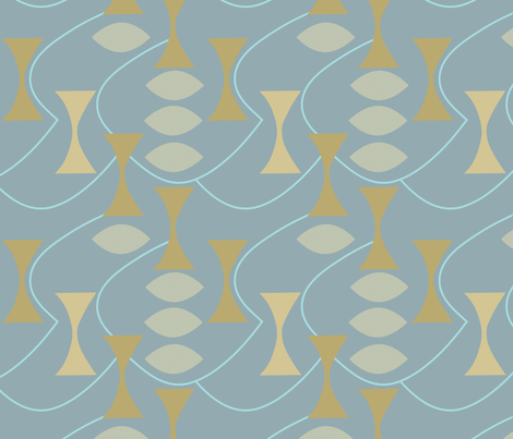 hourglass_and_almonds fabric by ottomanbrim on Spoonflower - custom fabric