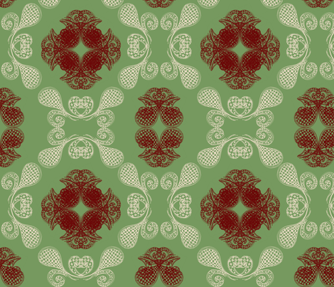 crest_pattern fabric by ginaglynn on Spoonflower - custom fabric