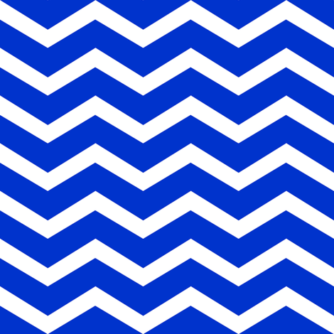 more navy and white chevron fabric by luluhoo on Spoonflower - custom fabric