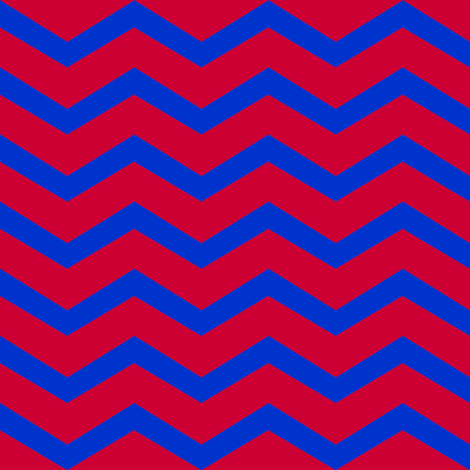 navy and red chevron fabric by luluhoo on Spoonflower - custom fabric