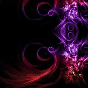 Red and Purple Swirl