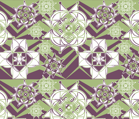 It's Geometric, My Dear fabric by rubydoor on Spoonflower - custom fabric