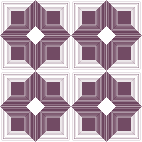 Purple Maze fabric by mag-o on Spoonflower - custom fabric