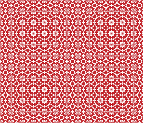 Christmas Wrap Red fabric by mag-o on Spoonflower - custom fabric