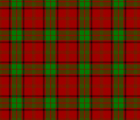 Doctor Who Jamie McCrimmon Tartan Highland variant fabric by warmcanofcoke on Spoonflower - custom fabric