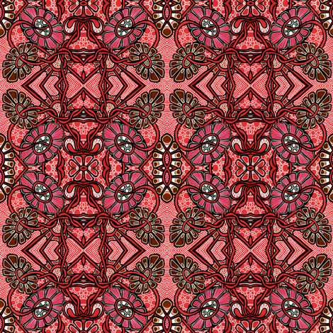 Floral Bandanarama  fabric by edsel2084 on Spoonflower - custom fabric
