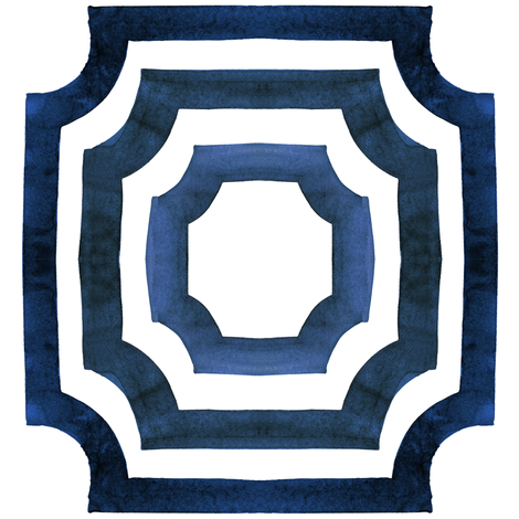 cestlaviv_lattice shadows original Slate fabric by cest_la_viv on Spoonflower - custom fabric