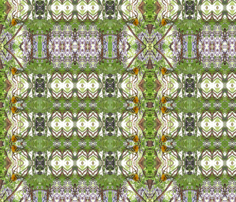 Wisteria Warbling fabric by wren_leyland on Spoonflower - custom fabric