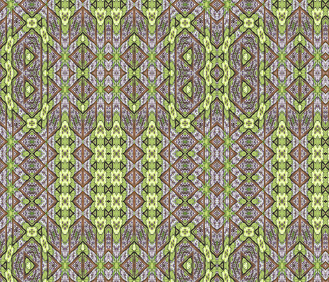wisteria woodland maze fabric by wren_leyland on Spoonflower - custom fabric
