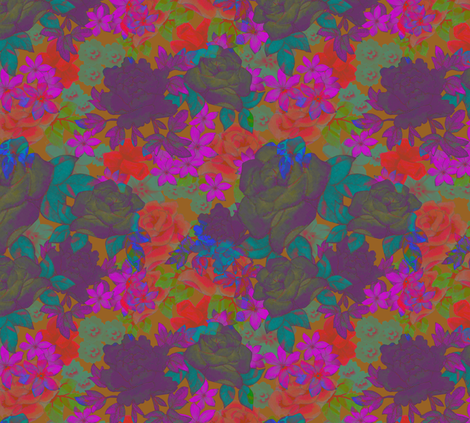 floral_2 fabric by aimeesthill on Spoonflower - custom fabric