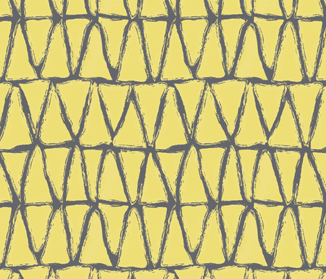 sunny triangles fabric by vo_aka_virginiao on Spoonflower - custom fabric