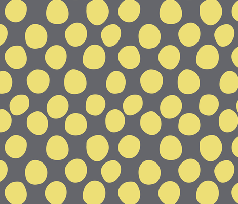 sunny dots fabric by vo_aka_virginiao on Spoonflower - custom fabric