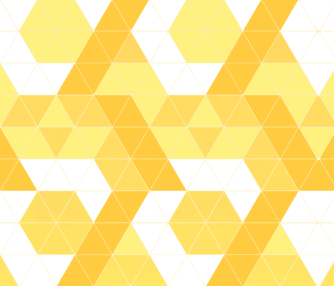 yellow fabric by zula on Spoonflower - custom fabric