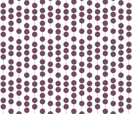Stringing Beads fabric by evenspor on Spoonflower - custom fabric