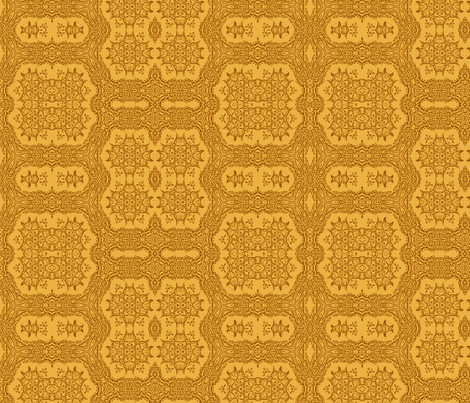 Butterscotch Lace fabric by wren_leyland on Spoonflower - custom fabric