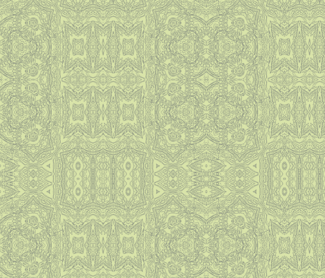Celery Green Lace fabric by wren_leyland on Spoonflower - custom fabric