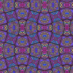 Filagree Tile Dimension Diamonds