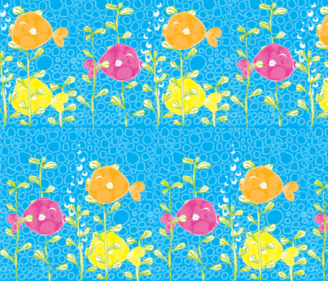 Under the Sea fabric by majobv on Spoonflower - custom fabric