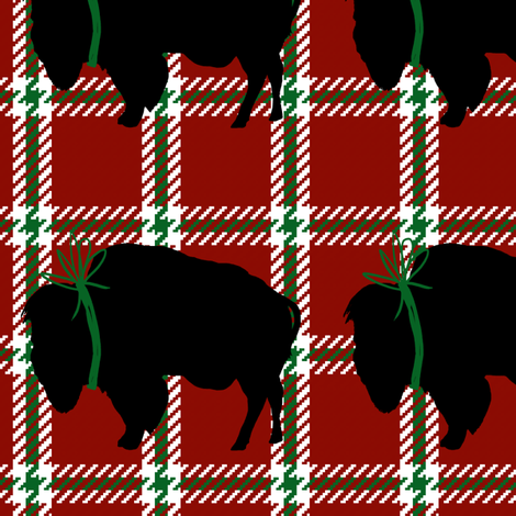 Big Buffalo Plaid fabric by fig+fence on Spoonflower - custom fabric