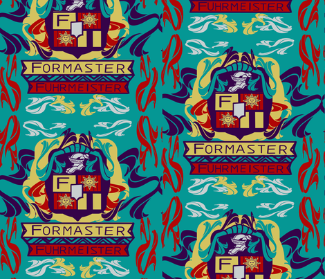 marzlene_ Family Crest fabric by marzlene'z_eye_candy on Spoonflower - custom fabric